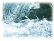 ミネラル分豊富な水に画像